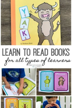 Books to Teach Reading and Letter Sounds