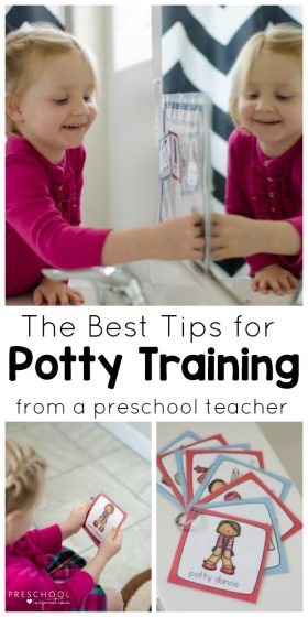 How to Use a Potty Training Chart and Visual Schedule for Potty Training Success