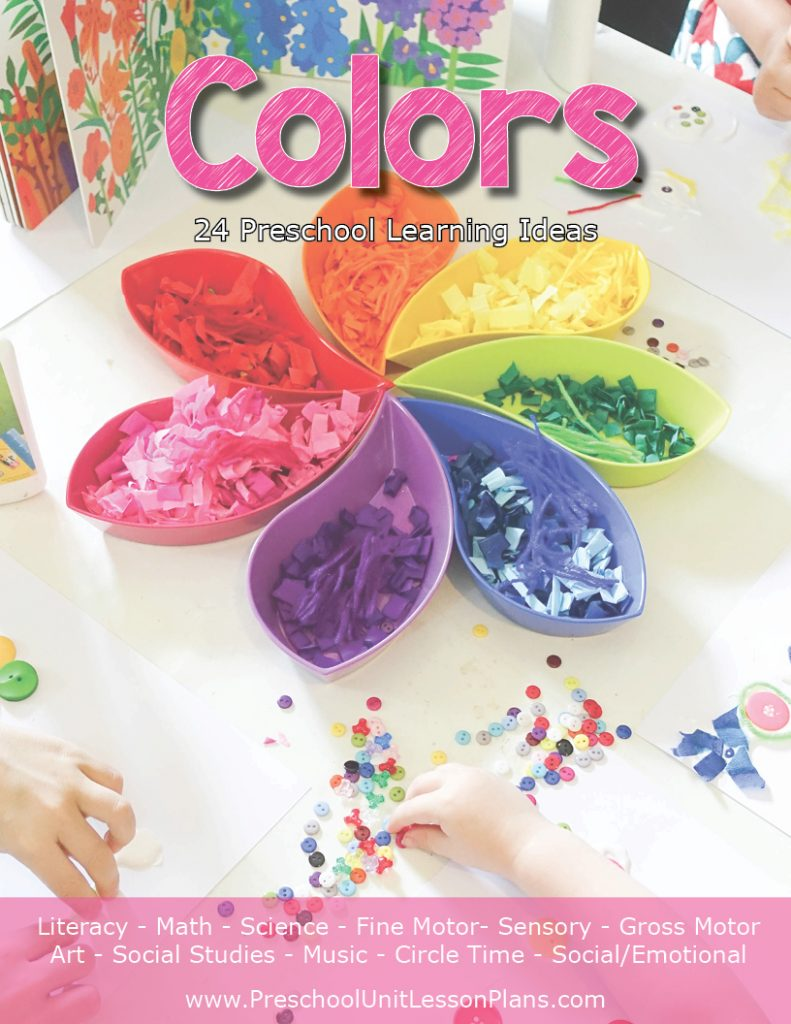 Color themed lesson plan