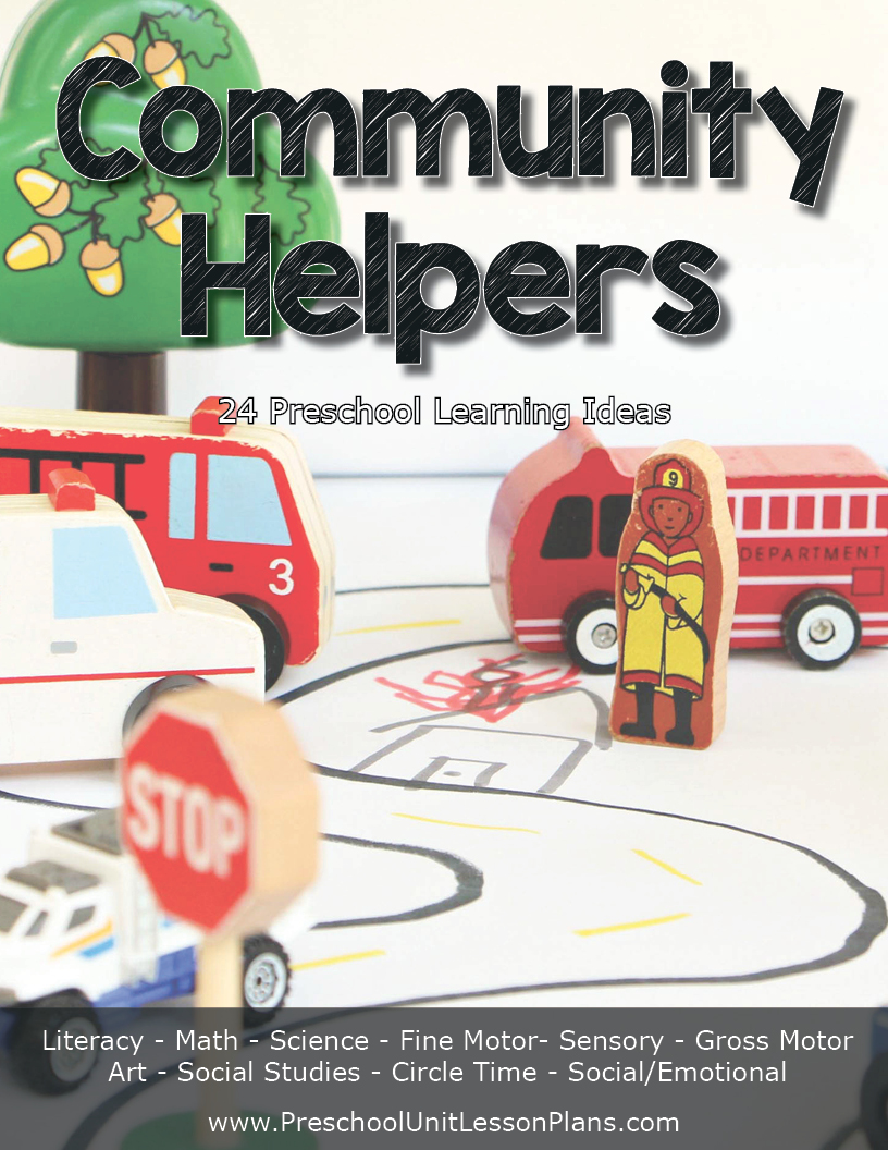 Community helper lesson plan