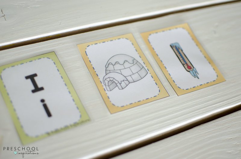 short vowel and long vowel letter cards