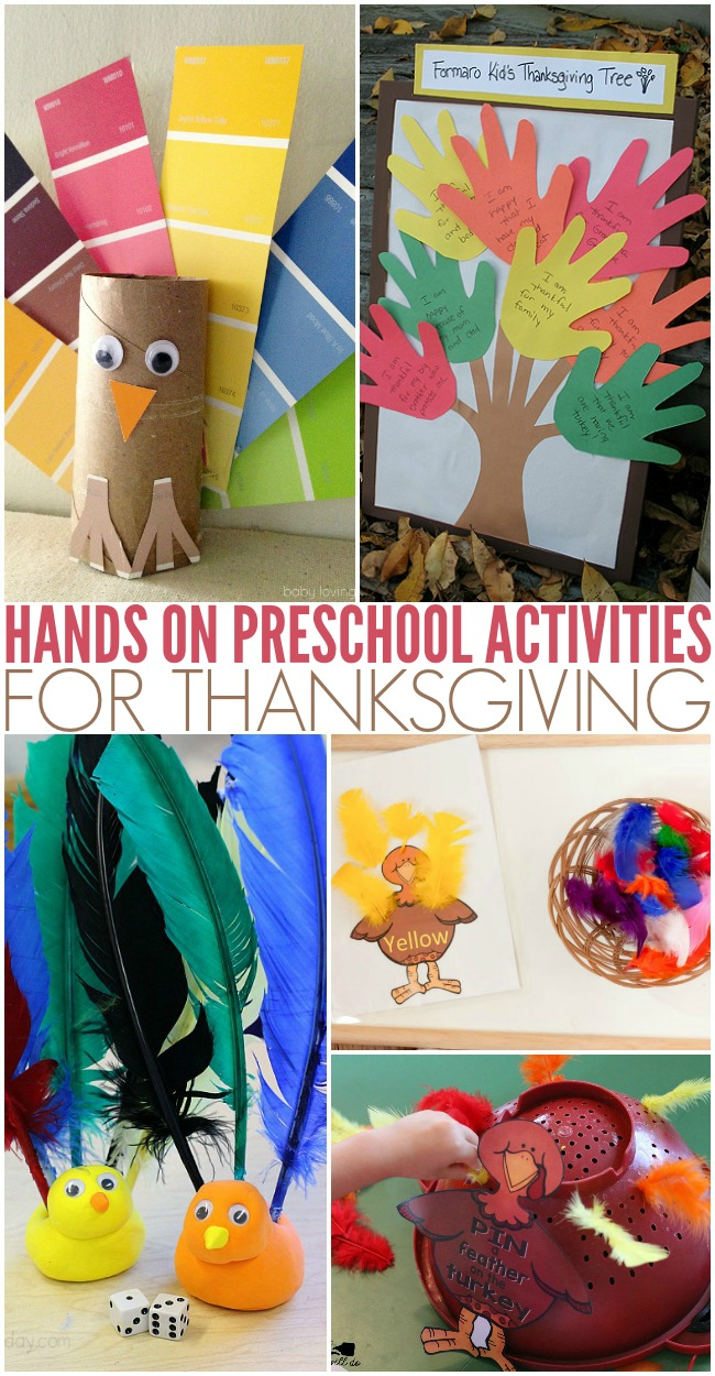 Construction Paper Thanksgiving Art Projects For Kids