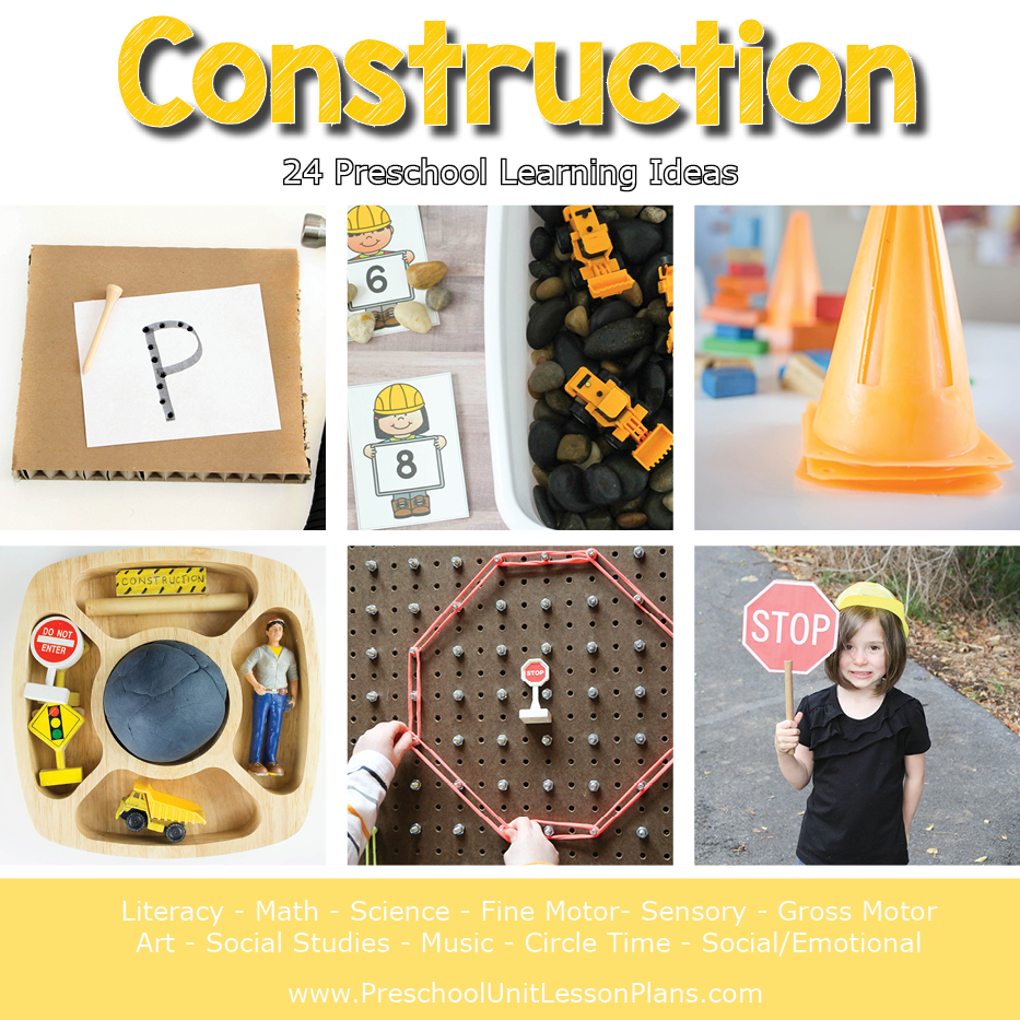 construction lesson plan for preschool