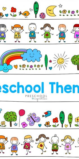 Themes for preschool and pre-k
