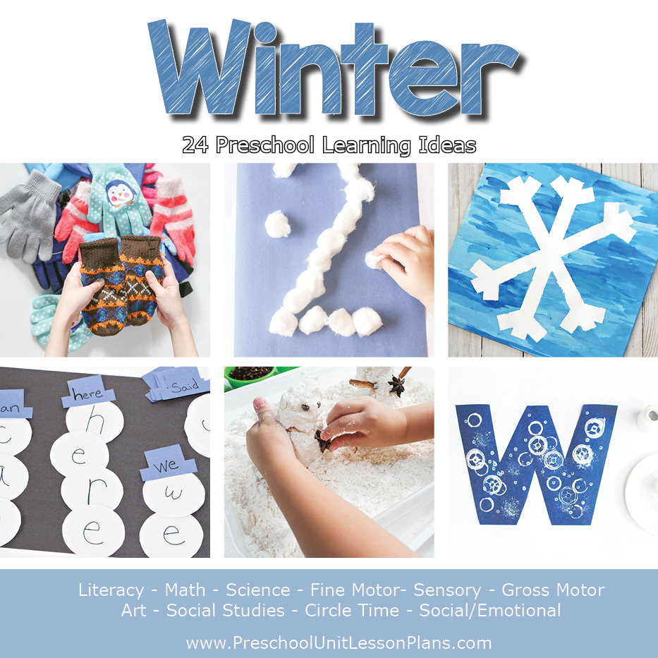 winter lesson plan