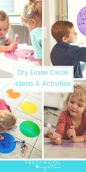 10 Ways to use Dry Erase Circles
