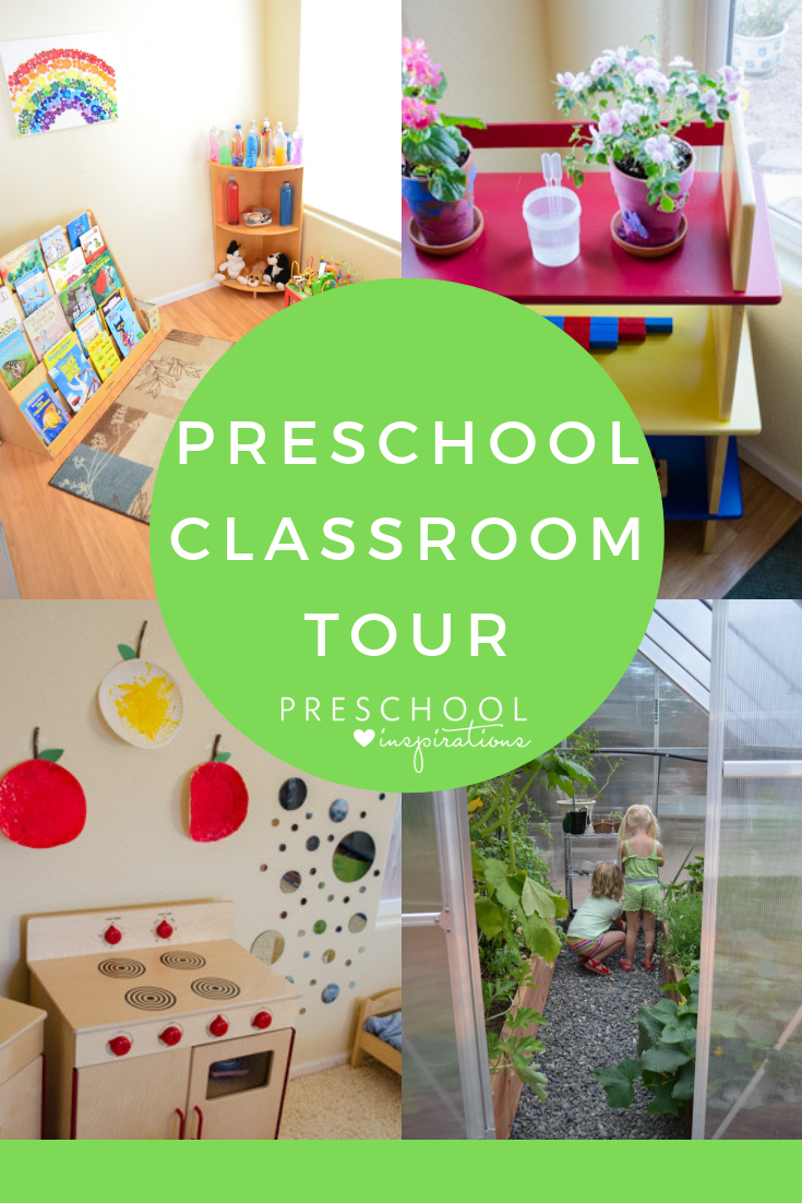 Come take a peek inside my in-home preschool! I include elements of Montessori, Reggio, Waldorf, and traditional philosophies to incorporate many different learning styles. #preschool #prek #kids