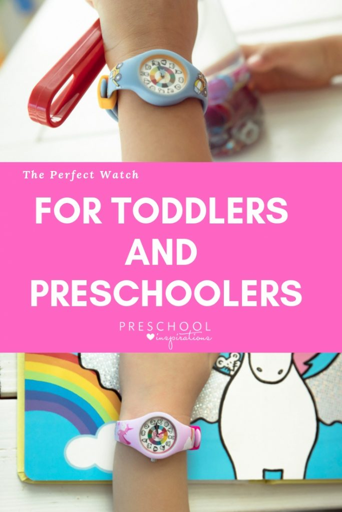 Kid watches that are perfect for helping teach time #preschool #kids #toddlers #kidwatches