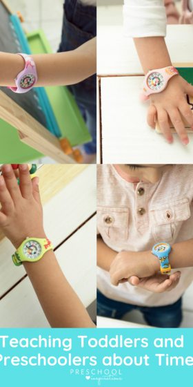 preschool clock and watches