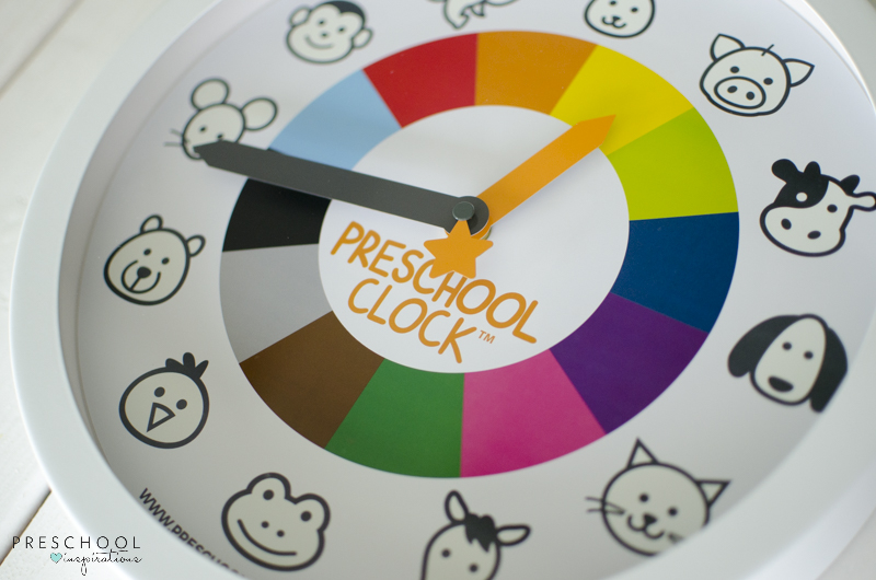 Preschool and Toddler Clock