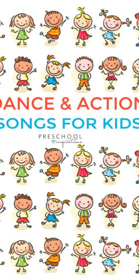 Brain break action and dance songs for kids