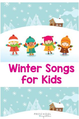 Winter songs for kids to sing