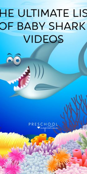 The ultimate list of baby shark song videos and why it's educational