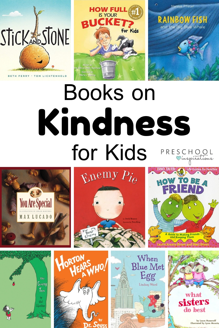 In a world where you can be anything, be kind! Here's a great list of the best books on kindness for kids, compiled by teachers and parents! #preschool #prek #kindergarten #kindness #socialemotional #booksforkids