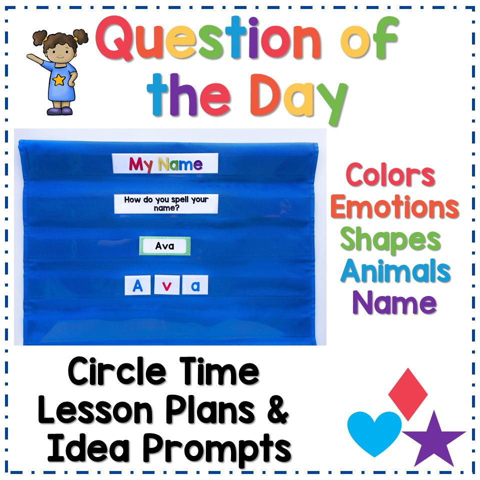 Question for the day circle time activity