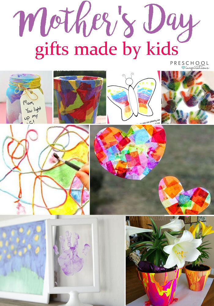 The Sweetest Diy Homemade Mother S Day Gifts Preschool Inspirations