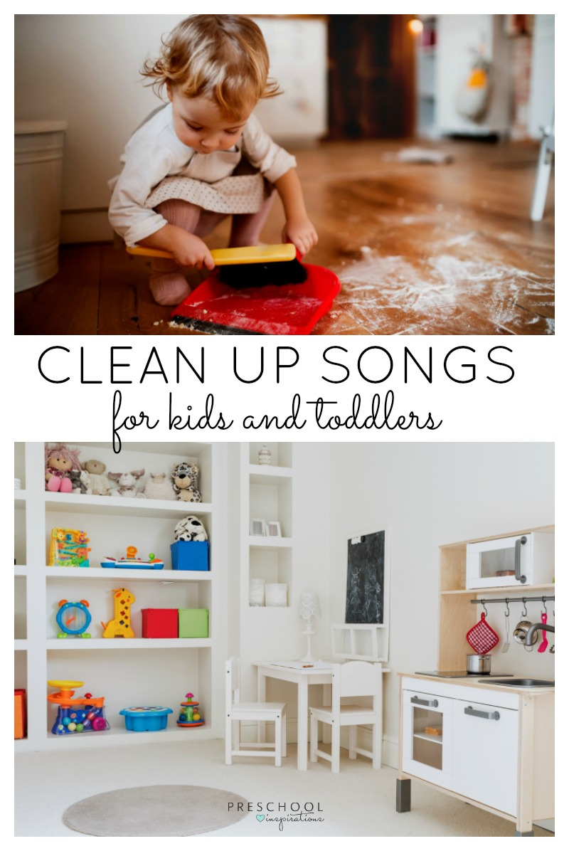 The Best Clean Up Songs for Kids - Preschool Inspirations