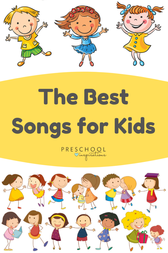 Find some of the best songs for kids and toddlers, all in one place! #preschool #songsforkids #songs