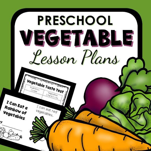 cover image for preschool vegetable lesson plans
