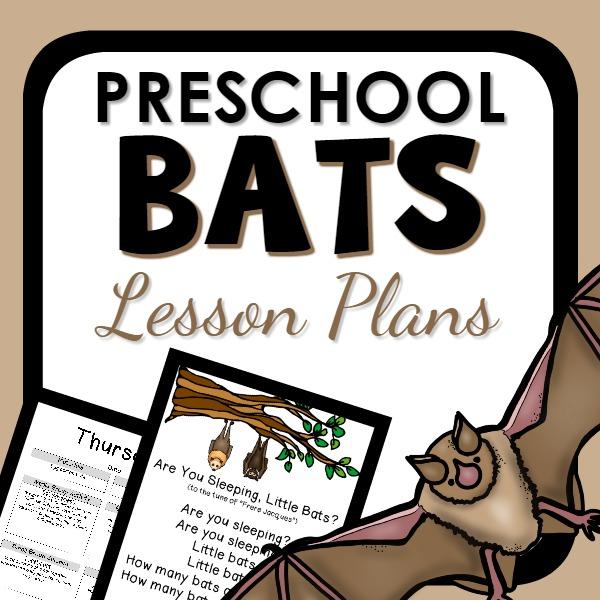 preschool bats lesson plans