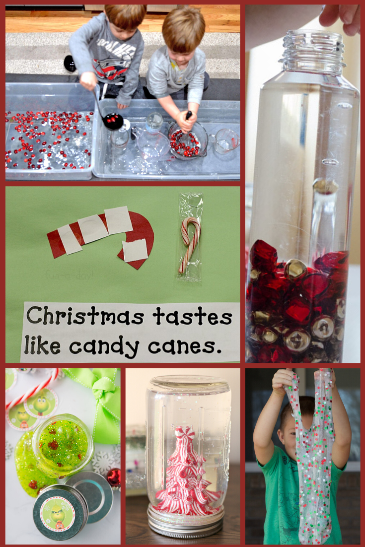 Christmas sensory activities for preschool