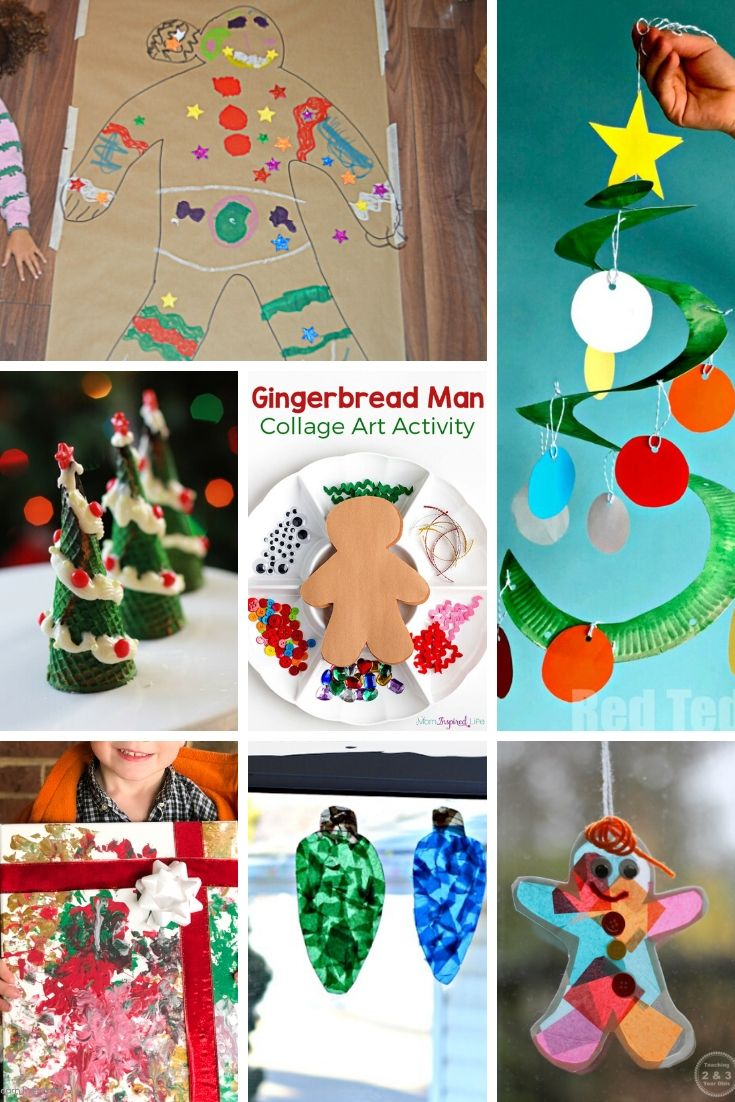 Christmas art activities for preschool