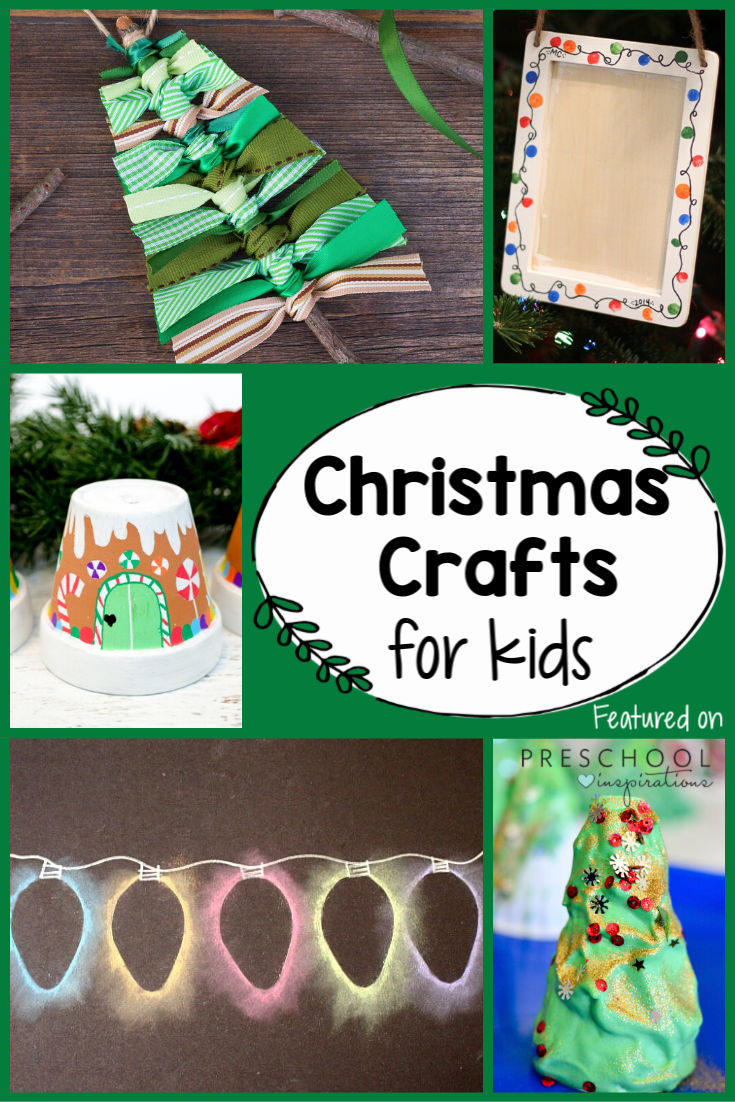 LOVE this list of Christmas crafts and activities for kids! There's Christmas art projects, Christmas tree crafts, DIY crafts, and more to do with kids this holiday season! #preschool #prek #christmas #christmascrafts #crafts #kidscrafts #christmasforkids