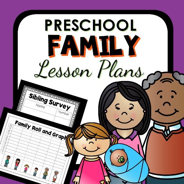 cover image for preschool family lesson plans