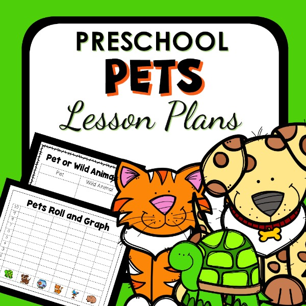 pets lesson plans cover image