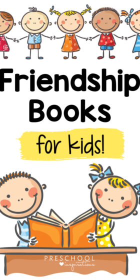 These books for preschoolers about friendship will warm your heart! They're great for circle time, social - emotional learning, or a friendship theme. Toddlers and kindergarteners will love them too!