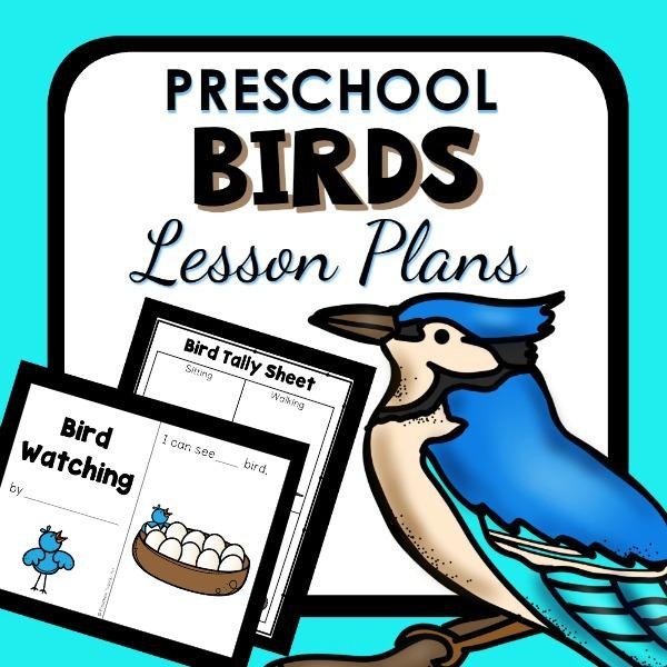 cover image for Preschool Birds Lesson Plan