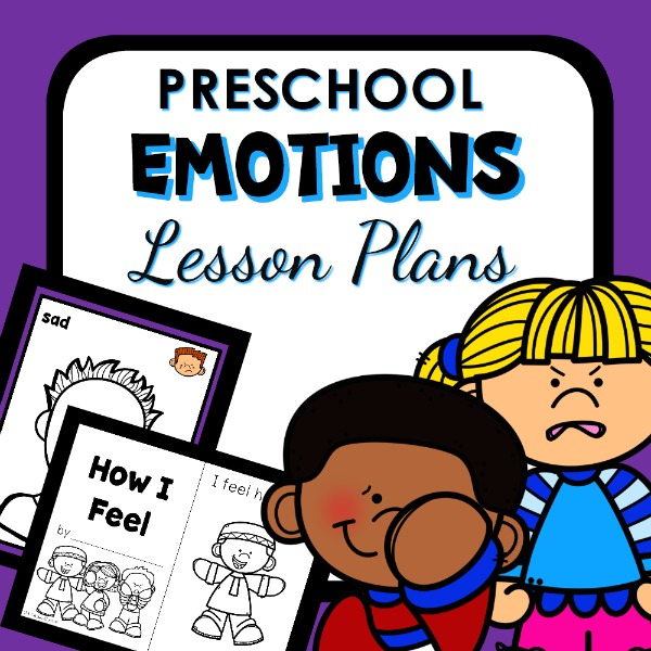 cover image for Preschool emotions lesson plan
