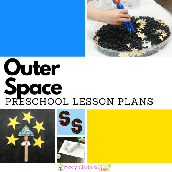 cover image for Preschool Lesson Plans Space