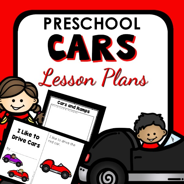 Cover image for preschool cars lesson plans