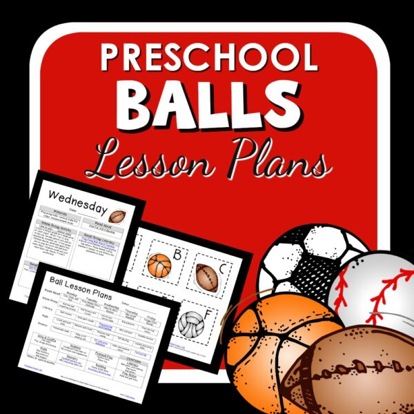 cover image for Preschool Balls Lesson Plans