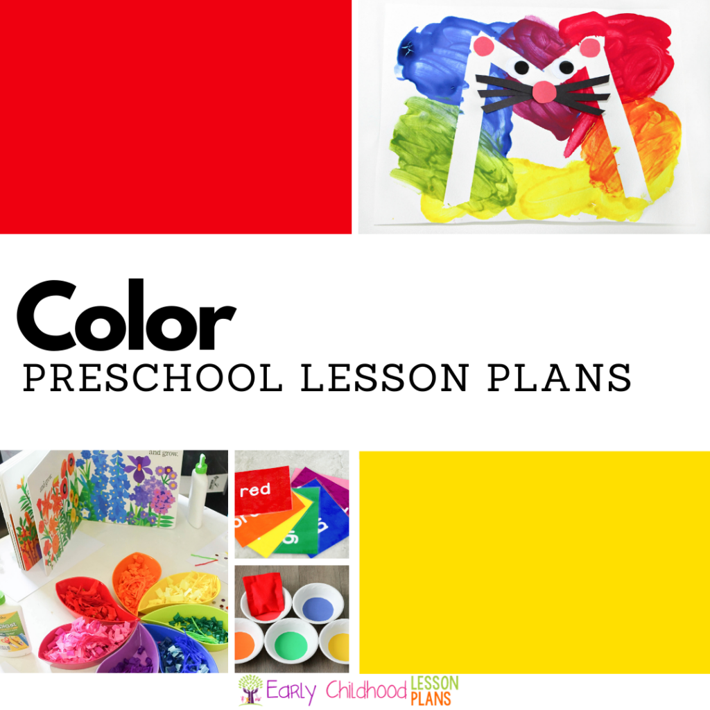 Cover image for Preschool Color Lesson Plans