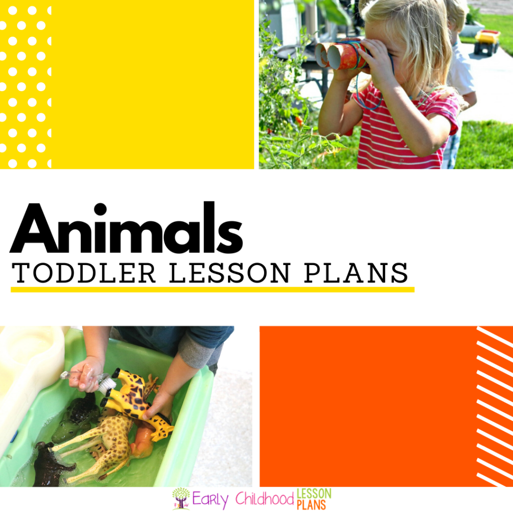 cover image for Animals Toddler Lesson Plans