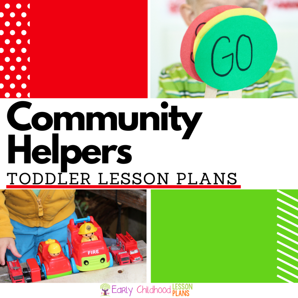 Cover Image for Community Helpers Toddler Lesson Plans