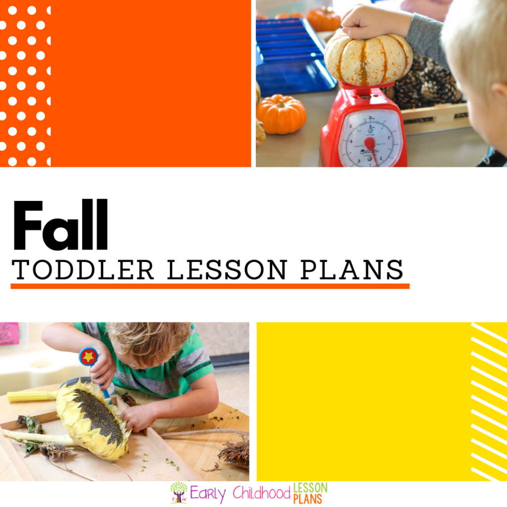 Cover image for Toddler Fall Lesson Plans