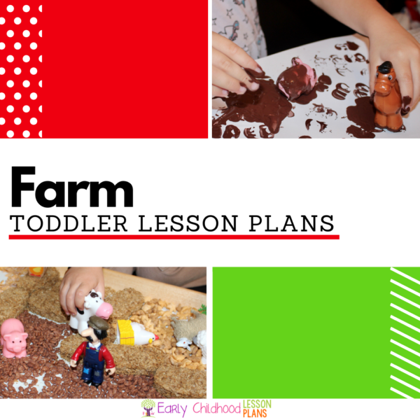 Cover image of Toddler Farm Lesson Plans