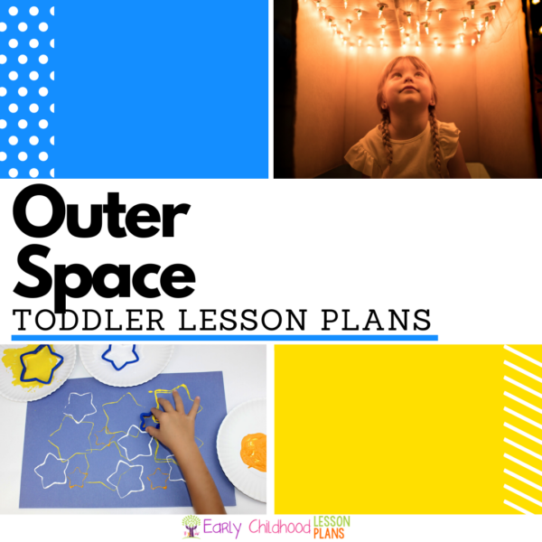 cover image for Toddler Outer Space Lesson Plans