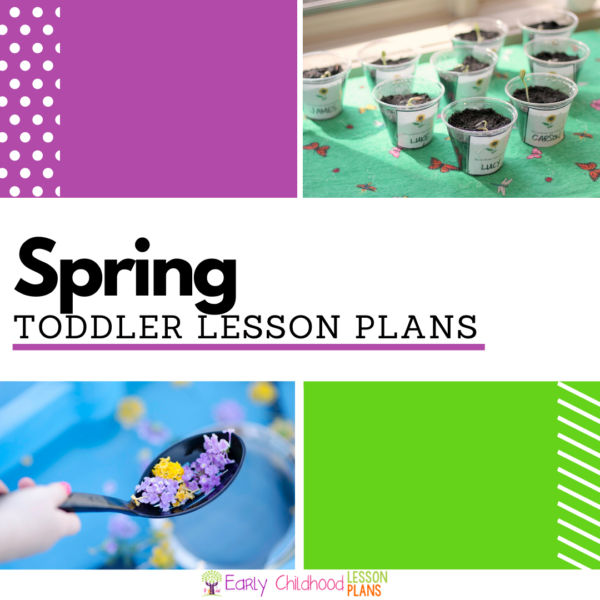 cover image for Toddler Spring lesson plans