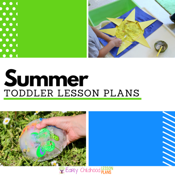 Cover image for Toddler Summer Lesson Plans