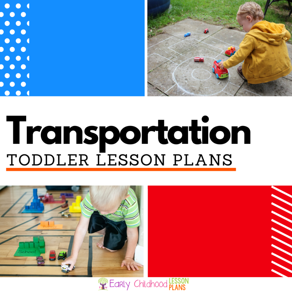 cover image for Toddler Transportation Lesson Plans