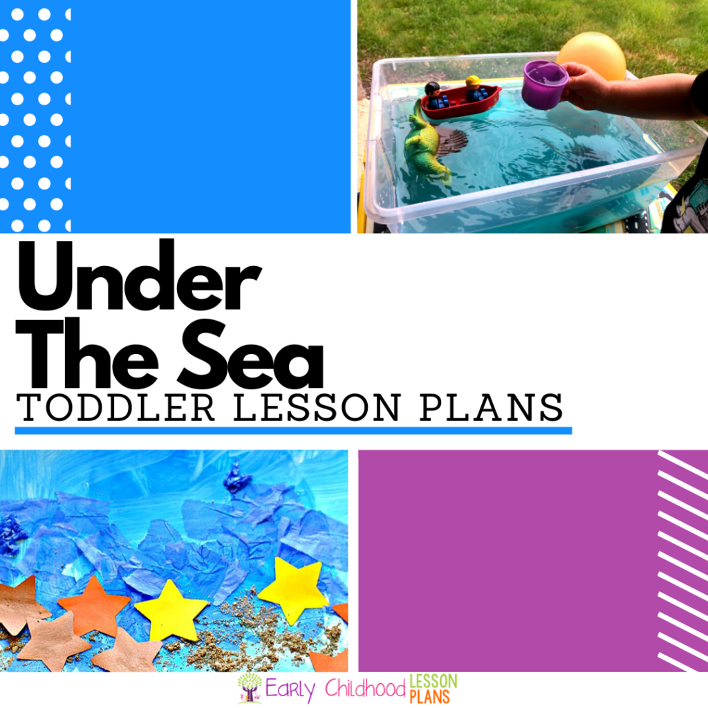 cover image for Under the Sea Lesson Plans for Toddlers
