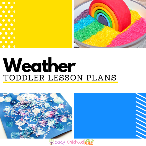 cover image for Weather Lesson Plans for Toddlers
