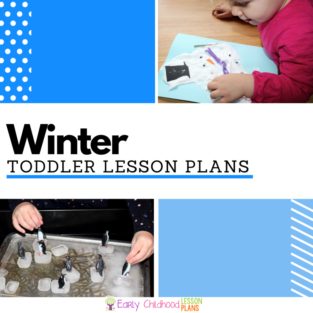 cover image for Winter Lesson Plans for Toddlers