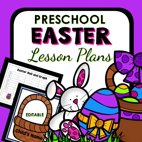 cover image for preschool easter lesson plans