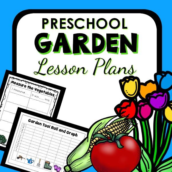 cover image for Preschool Garden Lesson Plans