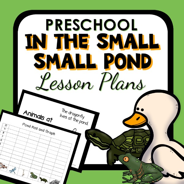 cover image for preschool pond lesson plan